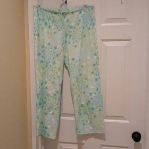 Victoria's Secret pajama pants bottoms large PJ's